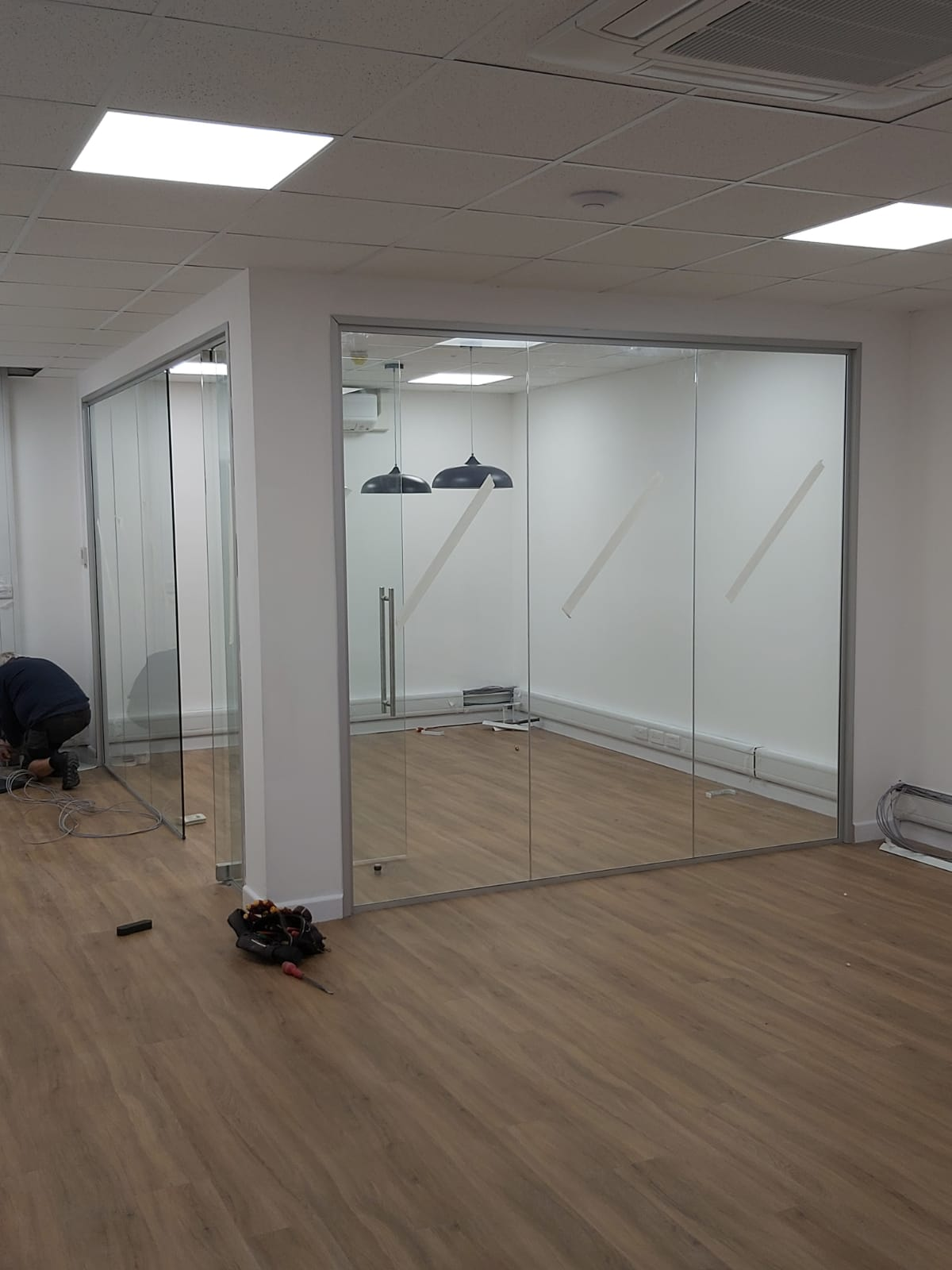 Steel Partitioning & Mesh Enclosures